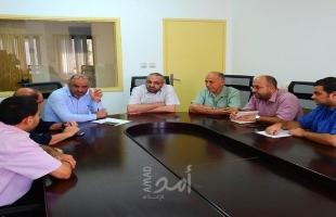 غزة: النقل والمواصلات وشرطة المرور تبحثان تطبيق قانون نظام النقاط المروري
