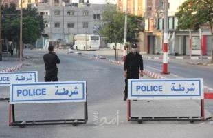 """مصدر لـ""""أمد"""": داخلية حماس بدأت باستخدام القوة في فرض الإغلاق المسائي"""