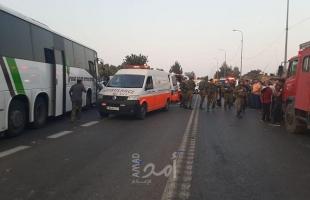 رام الله: مصرع مواطن واصابة اثنين آخرين بحادث سير قرب مستوطنة عوفرا