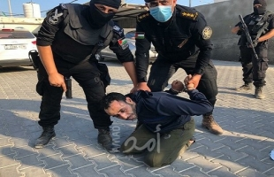 """فيديو لاعتقال  """"شادي الصوفي"""" المتهم بقتل المناضل """"جبر القيق"""