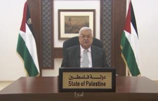 الرئيس عباس يعزي الرئيس العراقي بضحايا حريق مستشفى ابن الخطيب