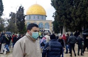 """اخر تطورات الحالة الوبائية لـ""""كورونا"""" في القدس"""