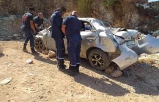 وفاة شاب وإصابة آخر بحادث سير في قلقيلية