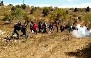 الهلال الأحمر: إصابة مواطن خلال مواجهات مع قوات الاحتلال في البيرة