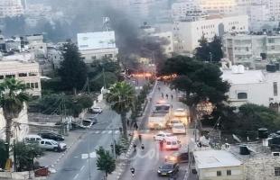 بالفيديو... رام الله: اندلاع مواجهات عنيفة بين عشرات الشبان وأجهزة السلطة بمخيم الأمعري