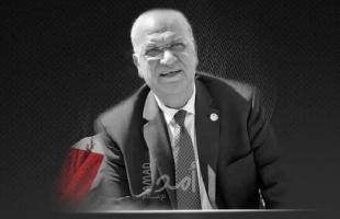 """محدث4- فصائل وقيادات فلسطينية ينعون """"د.صائب عريقات"""""""