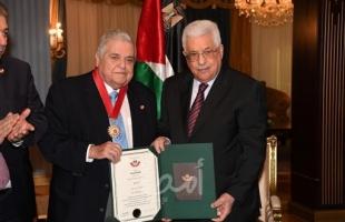الرئيس عباس ينعى المناضل الوطني باسل عقل