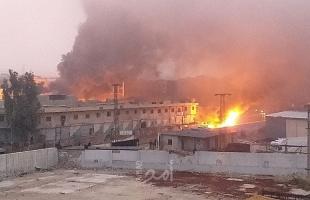 هجوم صاروخي جديد على القاعدة الأمريكية في حقل العمر النفطي شرقي سوريا