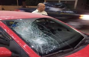 اصابة مواطن في هجوم للمستوطنين غرب نابلس