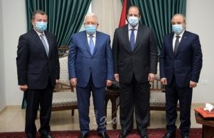 تفاصيل لقاء الرئيس عباس مع رئيسي جهازي المخابرات العامة المصرية والأردنية