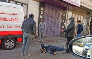 إصابة خطيرة لشاب في شجار عائلي بالخليل