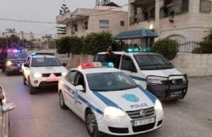 شرطة نابلس تفض شجاراً عائلياً وتقبض على مشتبه بالضلوع فيه