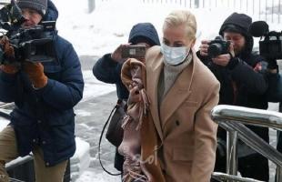 تغريم زوجة نافالني لمشاركتها باحتجاج ضد اعتقاله