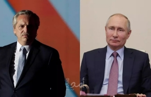 """الرئيس الأرجنتيني يشكر بوتين على لقاح """"سبوتنيك V"""" الروسي"""