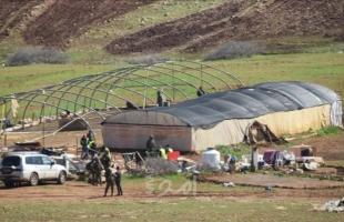 الأغوار: قوات الاحتلال تقتحم خربة حمصة الفوقا