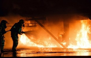 جنين: 3 إصابات في صفوف الدفاع المدني خلال محاولة منع شاب من احراق نفسه