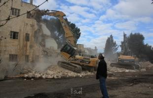 نابلس: قوات الاحتلال تخطر بهدم 15 منزلًا في بلدة يتما