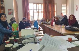 طولكرم: لجان العمل النسائي يعقد اجتماعا للتحضير للانتخابات
