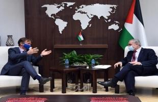 اشتية: نسعى مع الاتحاد الأوروبي وقطر لمعالجة كهرباء غزة جذريًا