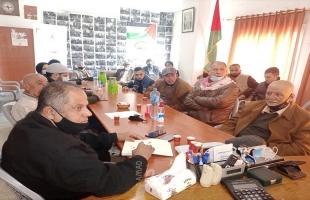 لجنة الانتخابات المركزية تلتقي ممثلي الأحزاب السياسية في مقر جبهة النضال بطولكرم
