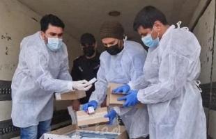 """قطاع غزة يبدأ حملة التطعيم ضد وباء """"كورونا"""""""