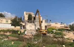 """""""أوتشا"""": سلطات الاحتلال هدمت وصادرت (421) منزلاً فلسطينيًا منذ بداية """"2021"""""""
