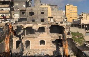 قوات الاحتلال تهدم 4 منازل في القدس
