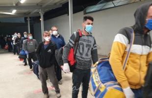 إسرائيل تبدأ  حملة تطعيم العمال الفلسطينيين ضد كورونا يوم الاثنين