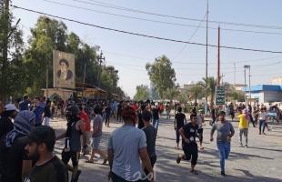 العراق: تجدد الاحتجاجات المطالبة بإقالة المحافظ في النجف.. فيديو