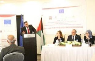 """التنمية الاجتماعية وجمعية طفل الحرب يختتمون مشرع """" حماية وتأهيل الأطفال الفلسطينيين"""""""