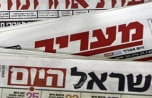 عناوين الصحف الإسرائيلية 18/4/2021