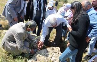 إحياء اليوم الوطني للبيئة الفلسطينية في محمية جبل طمون في طوباس