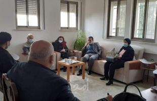 القدس: التنمية الاجتماعية ومؤسسة إنقاذ الطفل يبحثان آلية دعم نزلاء الملجأ الخيري