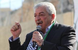 """عقب إستشهاد """"حمايل"""".. العالول: جرائم الاحتلال الإسرائيلي لا تتوقف ولم يتركوا لنا أي خيار"""