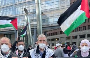برلين: العشرات يشاركون في وقفة لنصرة القدس
