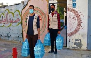 """شباب الأمة يوزع 200 وجبة سحور ضمن الحملة الرمضانية الكبرى """"السعيد من أسعد"""""""