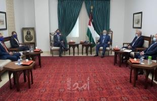 تفاصيل اجتماع الرئيس عباس بممثل الاتحاد الأوروبي