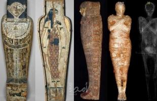 الأولى من نوعها في العالم.. اكتشاف مومياء مصرية حامل