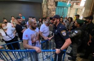 """""""الرئاسة الفلسطينية"""" و""""الأردن"""" يدينان اجراءات الاحتلال القمعية ضد المقدسيين"""