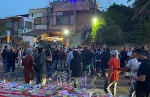مستوطنون يعتدون على المعتصمين في الشيخ جراح - فيديو