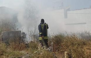 طواقم الدفاع المدني تتعامل مع 97 حادث حريق وإنقاذ في الضفة الغربية محلي
