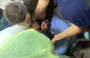 """استشهاد الفتى """"رشيد أبو عرة خلال مواجهات مع قوات الاحتلال في طوباس"""