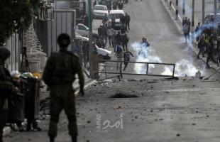 عشرات حالات الاختناق خلال اعتداء جيش الاحتلال على مسيرات سلمية في الضفة- فيديو