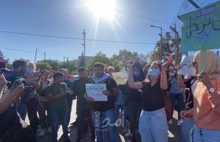 القدس: اعتصام في الشيخ جراح رفضًا لقرار سلطات الاحتلال هدم خيمتي تضامن