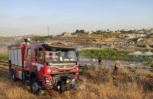 الدفاع المدني: طواقمنا تعاملت مع (48) حادث بالضفة الغربية