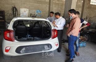 غزة: النقل والمواصلات تواصل أعمال حصر أضرار العدوان الإسرائيلي