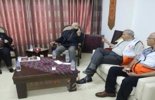 غزة: الكيلة تتفقد الأضرار التي لحقت بمرافق مستشفى القدس التخصصي بسبب العدوان
