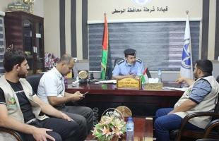 شرطة وسط قطاع غزة تفرج عن (46) موقوفاً غارماً