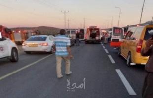 نابلس: وفيات وإصابة حرجة جراء حادث سير - فيديو وصور