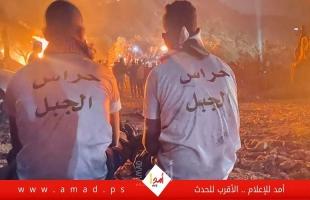 شاهد بالفيديو - جبل صبيح في نابلس شامخا  في وجه سياسات المحتل لتقسيم الضفة